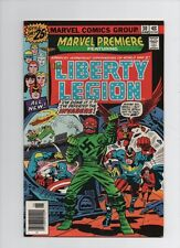Marvel Premiere #30 - Liberty Legion Red Skull Cover - (Grade 7.0) 1976