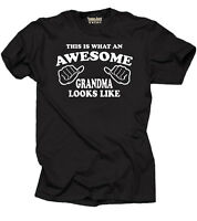Grandma T-shirt Gift for Grandmother Nana Grandma Tee Shirt Birthday Gift Tee