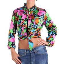 Camisas y tops de mujer blusa de color principal multicolor de seda