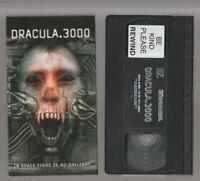 DRACULA 3000 Horror VHS LIONSGATE video Movie Gore Cult Slasher Sex DRACULA.3000