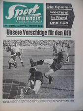 SPORT MAGAZIN KICKER 31 A - 26.7. 1965 * Nürnberg-Fürth 3:0 KSC Georg Wurzer VfB
