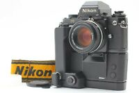 [ALL MINT Set w/ MK-1 & MD-4]  Nikon F3 HP + Ai-s 50mm f1.4 Strap From JAPAN#132