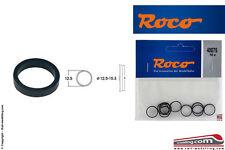 ROCO 40075 - H0 1:87 - Set 10 anelli aderenza ricambio gommini ruote da 12,5/15,
