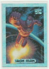 1994 Marvel Masterpieces Holofoil 5 of 10 IRON MAN Chase/Insert card