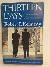 Thirteen Days by Robert F. Kennedy 1969 -1st Edition 1st printing JFK RFK
