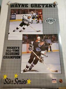 """Wayne Gretzky Starline Poster 1989 LA Kings 22""""x34"""""""