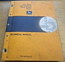 John Deere 670A 672A Motor Grader Technical Service Repair Manual