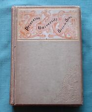 1893 PRINCETON UNIVERSITY YEARBOOK BRIC-A BRAC * for school year of 1891- 1892