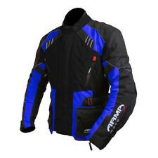 Blousons bleus coudes pour motocyclette taille XXL