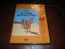 DVD COLLECTION TINTIN LE CRABE AUX PINCES D'OR - NEUF SOUS BLISTER