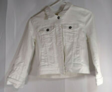 Girls Takara jean White Jacket Size M