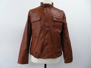 Belstaff - Belflex - Tan Jacket - Men M - Women XXL 14 16 - Vintage With Tags
