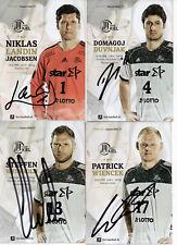 Autogrammsatz - Handball THW Kiel - 2016/2017