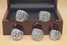5pcs 1971 1977 1992 1993 1995 Dallas Cowboys Championship Ring ---