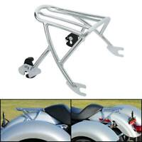 Solo Detachable Luggage Rack Fit For Harley Sportster XL1200C XL1200T XL883L 04+