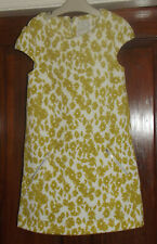 Girls Lime Green Next Dress Age 8 Years ( 7 - 8 )