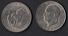 STATI UNITI DOLLARO NICKEL  EISENHOWER 1971 UNC  RARO USA Coins