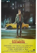 Taxi Driver - Robert De Niro - Jodie Foster - A4 Laminated Mini Movie Poster