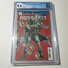 Star Wars Age of Rebellion Boba Fett 1 CGC 9.6 White Pages Marvel 7/19 HOT 🔥