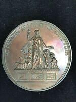Australia: 1873 Royal Agricultural Soc NSW Sydney Huge 88mm  Prize Medal. RARE
