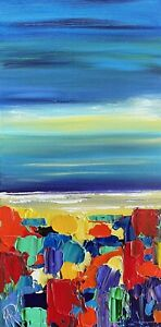Marina Rehrmann Original Abstract Contemporary Ocean Seascape Landscape Art 🧿