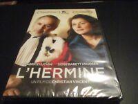 "DVD ""L'HERMINE"" Fabrice LUCHINI, Sidse Babett KNUDSEN"