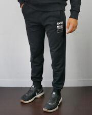 Converse Pantaloni tuta Pants Fleece Classic Rib Nero Cotone con tasche Uomo