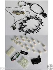 Brand New Designsix Wholesale Lot; 10 Shades of Black N White Bijoux