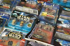 STAR WARS MICRO MACHINE & ACTION FLEET FIGURE & SHIPS SETS - ALL CARDED !!!