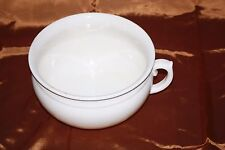 Old Chamber Pot - No apparent markings - 24.5 cm Diameter - Good Condition