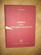IVO UBALDINI - CHIMICA DELLE SOSTANZE COLORANTI - ED:TAMBURINI - ANNO:1966 (GK)