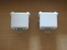 2x Original Nintendo Wii Motion Plus Adapter weiss