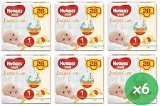Huggies Extra Care Pannolini Protezione Pelle 112 Pezzi Taglia 1  - Bianchi (2591571)