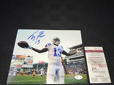TY HILTON INDIANAPOLIS COLTS SIGNED 8X10 PHOTO JSA WITNESSED COA WP114169