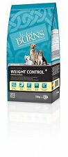 Burns Dog Food Weight Control for Overweight or Diabetic Adult Dogs 15 kg