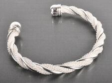Armband  925 Sterling Silber plattiert Geschenk Damen Armreif Schmuck Neu