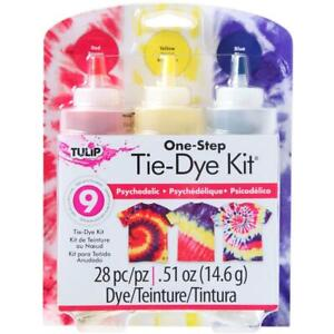 Tulip 'ONE-STEP TIE DYE KIT - PSYCHEDELIC' 3 Colours #31672