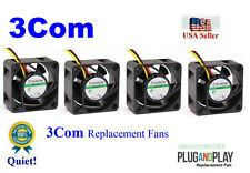 LOt 4x Replacement fans for 3Com Switch 4800G-24 4800G-48 Port