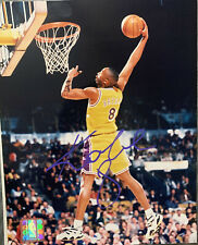 "1997 Kobe Bryant Autographed 8"" x 10"" Photo - Rookie Year Auto Signed"