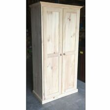 Pantry 90cm Solid Timber - RAW