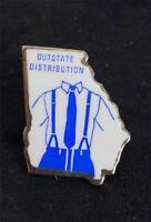 Vintage Georgia Outstate Distribution Pin Pinback