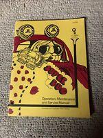 Original Super Bug Atari ARCADE Video GAME  owners manual