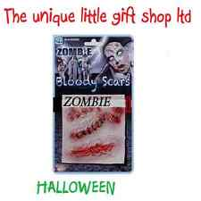 HALLOWEEN Fancy Dress Accessories  Special Effects Makeup - FX Zombie Scars