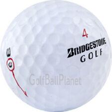 50 AAA+ Bridgestone E6 Dual Dimple 2012 AAA+ Used Golf Balls + Tees