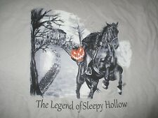 Vintage Fruit of the Loom THE LEGEND OF SLEEPY HOLLOW (XL) T-Shirt HALLOWEEN