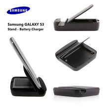 OEM External Portable Battery Charger & Stand For Samsung Galaxy S3 EBH-1G6MLA