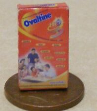 1:12 Scale Empty Ovaltine Packet Dolls House Miniature Kitchen Drink Accessory