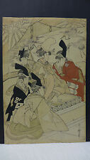 Kitagawa Utamaro Japanese Woodblock Print