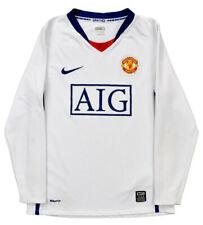 Nike 2008-10 MANCHESTER UNITED *BERBATOV* L/S SHIRT L Shirt Jersey Kit