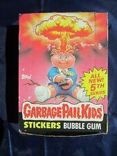 GARBAGE PAIL KIDS Stickers Bubble Gum 5rd Series